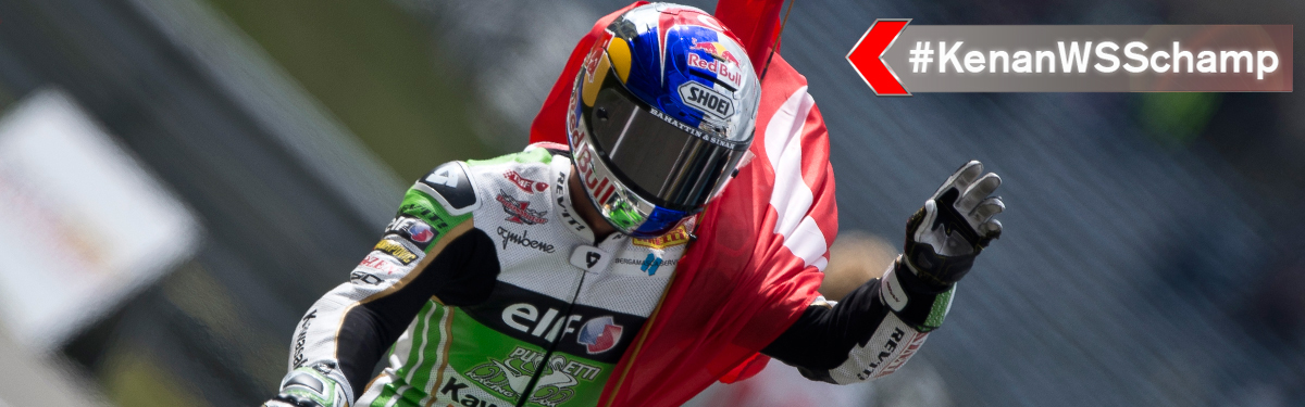 Kenan Sofuoglu: 2015 FIM Supersport World Champion