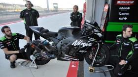 Kawasaki Racing Team, MotorLand Test