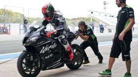 Tom Sykes, Kawasaki Racing Team, Jerez Test