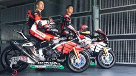 Hayden, vd Mark, Honda WorldSBK Team, MotorLand Test2