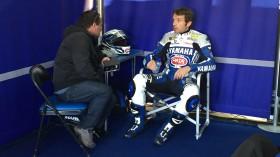 Sylvain Guintoli, Pata Yamaha World Superbike, MotorLand Test2