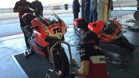 Aruba.it Racing-Ducati Superbike Team, MotorLand Test2