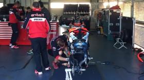 Chaz Davies, Aruba.it Racing-Ducati Superbike Team, MotorLand Test2