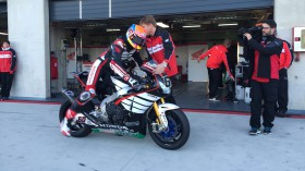 Michael vd Mark, Honda WorldSBK Team, MotorLand Test2