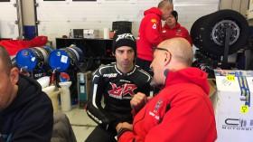 Marco Melandri, MV Agusta Reparto Corse, Jerez Test2