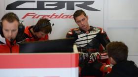Michael vd Mark, Honda WorldSBK Team, Jerez Test2