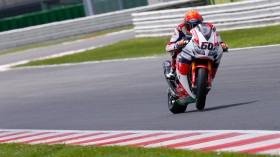 Michael vd Mark, Honda World Superbike Team, Official Test Misano
