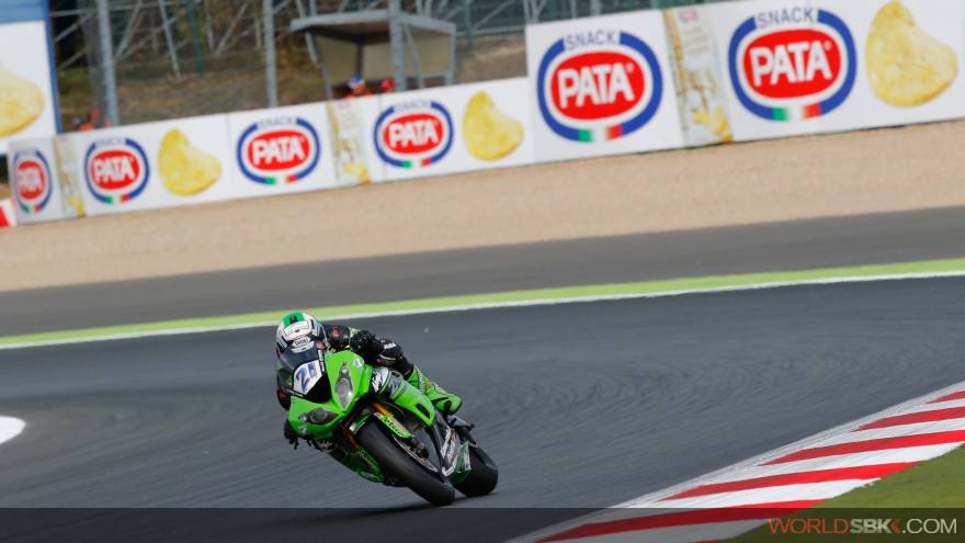 Randy Krummenacher, Kawasaki Puccetti Racing,  Magny-Cours FP1