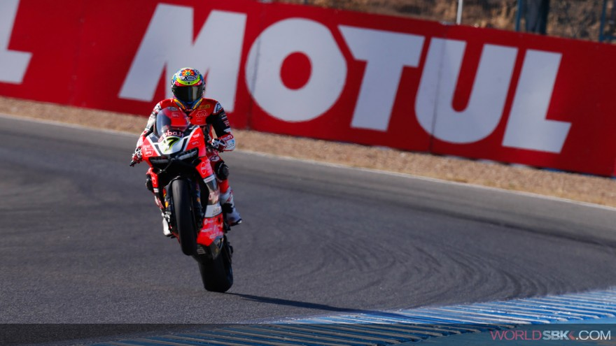 Chaz Davies, Aruba.it Racing-Ducati, Jerez FP2