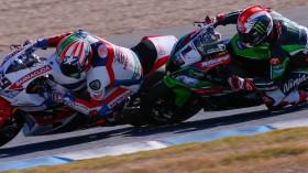 Nicky Hayden, Jonathan Rea, Jerez FP2