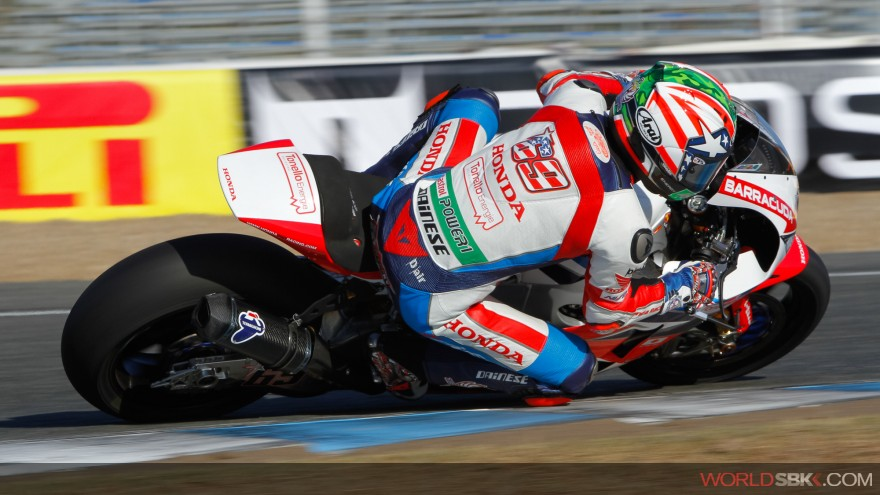 Nicky Hayden, Honda World Superbike Team, Jerez FP1