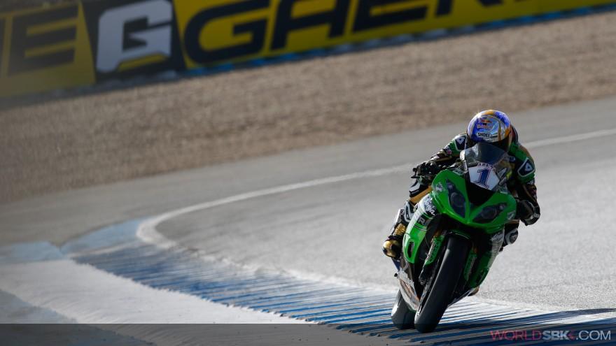 Kenan Sofuoglu, Kawasaki Puccetti Racing, Jerez FP1