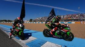 Jonathan Rea, Tom Sykes, Jerez RAC1