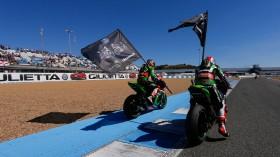 Tom Sykes, Jonathan Rea, Jerez RAC1