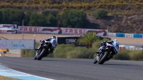 Alex Lowes, Sylvain Guintoli, Jerez RAC2