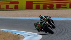Tom Sykes, Jonathan Rea, Jerez RAC2