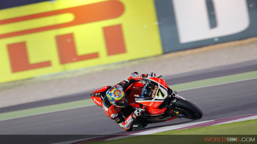 Chaz Davies, Aruba.it Racing-Ducati, Losail FP1