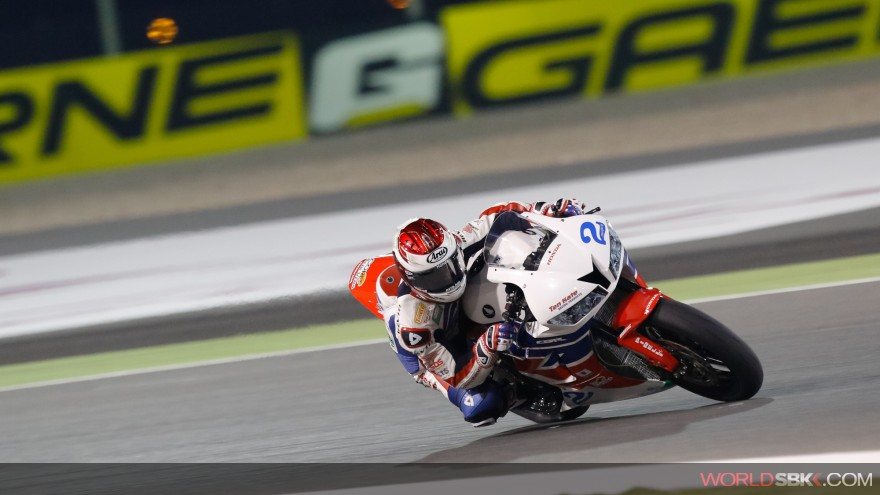 PJ Jacobsen, Honda World Supersport Team, Losail FP1