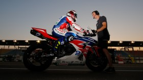 PJ Jacobsen, Honda World Supersport Team, Losail SP2
