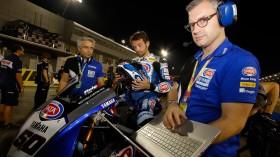 Sylvain Guintoli, Pata Yamaha Official WorldSBK Team, Losail RAC1