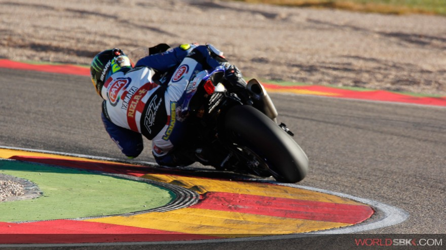 Alex Lowes, Pata Yamaha Official WorldSBK Team, Aragon Test
