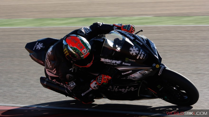 Tom Sykes, Kawasaki Racing Team, Aragon Test