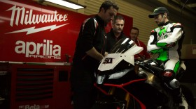 Milwaukee Aprilia World Superbike Team Debut at Jerez
