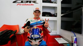 Stefan Bradl, Honda World Superbike Team, Jerez Test Day2