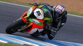 Ayrton Badovini, Grillini Racing, Jerez Test Day2