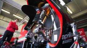 Milwaukee Aprilia World Superbike Team, Jerez Test Day3
