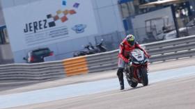 Lorenzo Savadori, Milwaukee Aprilia World Superbike Team, Jerez Test Day3