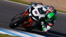 Eugene Laverty, Milwaukee Aprilia World Superbike Team, Jerez Test Day3