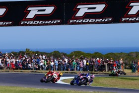 Alex Lowes, Xavi Fores, Phillip Island, Race2