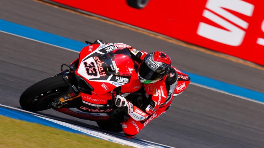 Marco Melandri, Aruba.it Racing-Ducati, Chang FP1