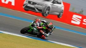 Tom Sykes, Kawasaki Racing Team, Buriram RAC1