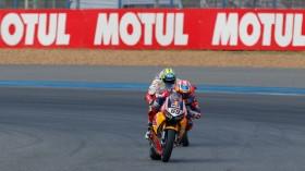 Nicky Hayden, Red Bull Honda World Superbike Team, Buriram RAC1