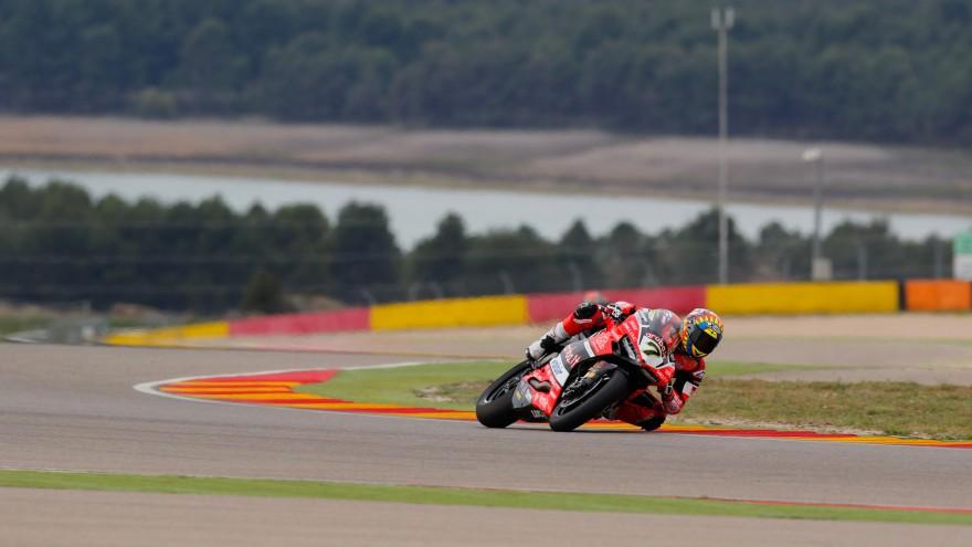 Chaz Davies, Aruba.it Racing-Ducati, MotorLand Aragon FP2