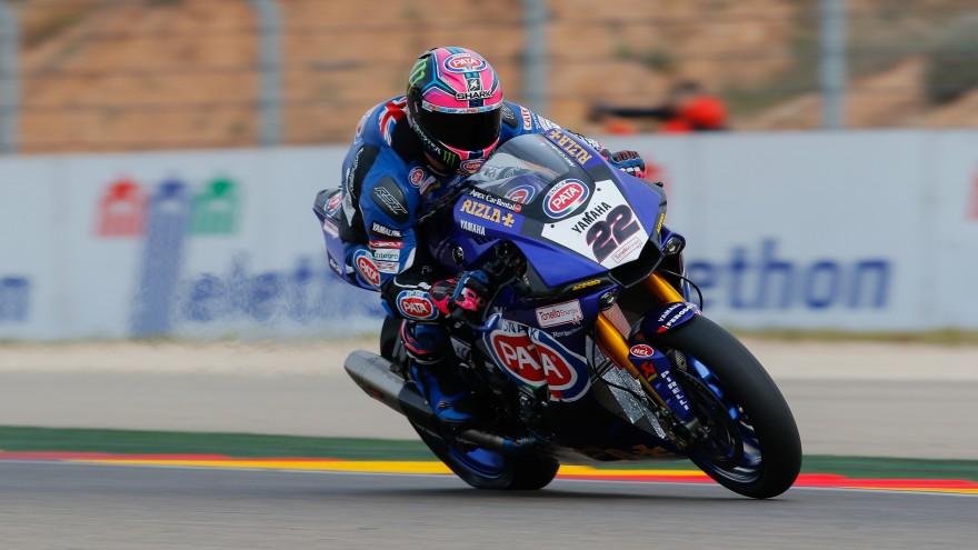 Alex Lowes, Pata Yamaha Official WorldSBK Team, MotorLand Aragon FP1