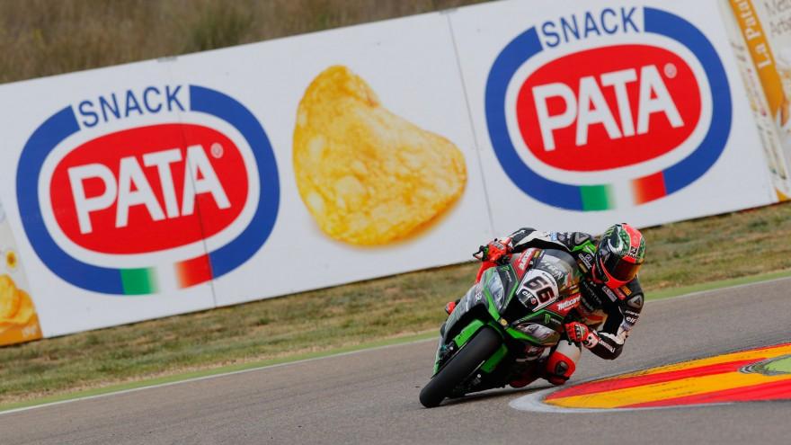 Tom Sykes, Kawasaki Racing Team, MotorLand Aragon FP2