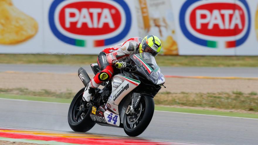 Roberto Rolfo, Team Factory Vamag, MotrLand Aragon FP2