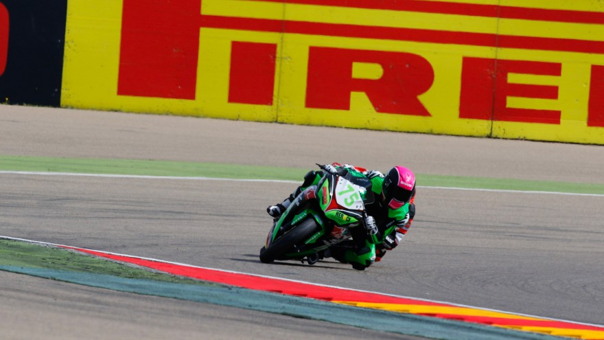 Scott Deroue, MTM HS Kawasaki, MotorLand Aragon SP2