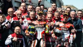 Melandri, Davies, Aruba.it Racing-Ducati, MotorLand Aragon RAC2