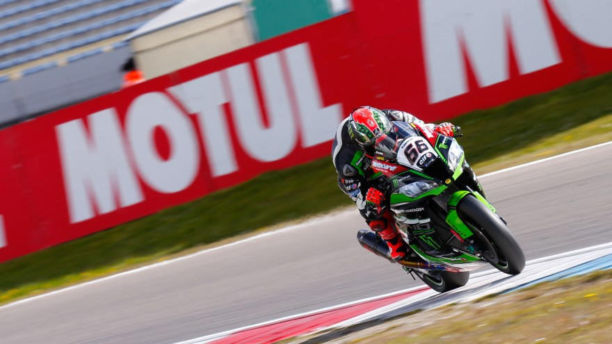 Tom Sykes, Kawasaki Racing Team, Assen FP1