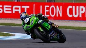 Kenan Sofuoglu, Kawasaki Puccetti Racing, Donington FP2