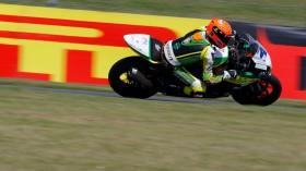 Gino Rea, Team Kawasaki Go Eleven, Donington FP2