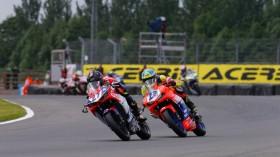 Filippo Rovelli, Paolo Giacomini, Donington RAC