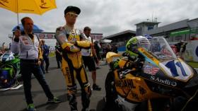 Christian Gamarino, BARDAHL EVAN BROS. Honda Racing, Donington RAC