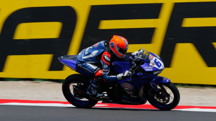 Robert Schotman, GRT Yamaha Official WorldSSP Team, Misano RAC