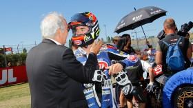 Roberto Tamburini, PATA Yamaha Official STK 1000 Team, Misano RAC
