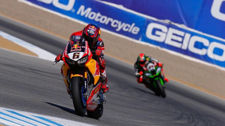 Stefan Bradl, Red Bull Honda World Superbike Team, Laguna Seca FP1